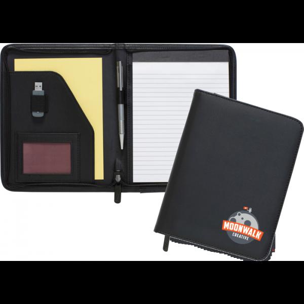 Dartmouth A5 Conference Folder - Zipped