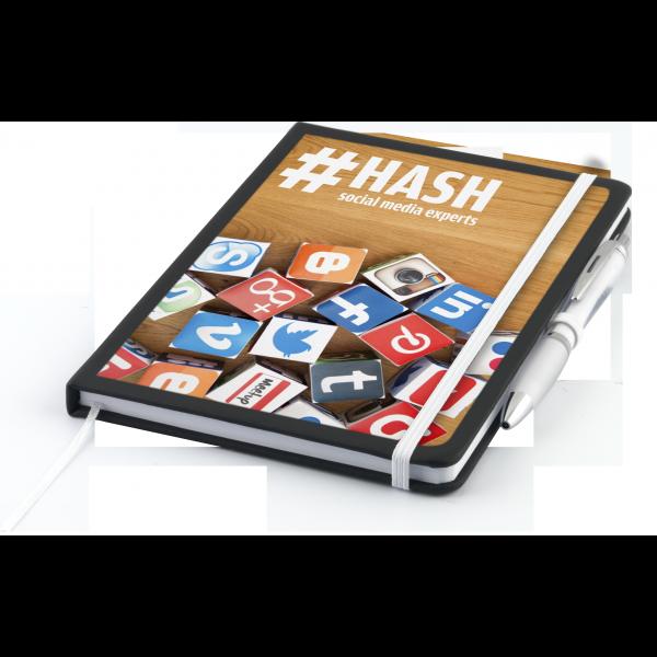 Nero A5 Notebook with Contour Ballpen