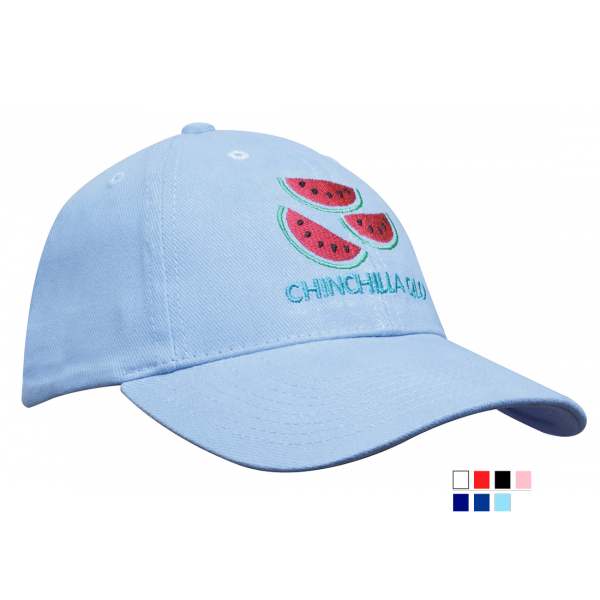 Heavy Brushed Cotton Cap - Youth Size