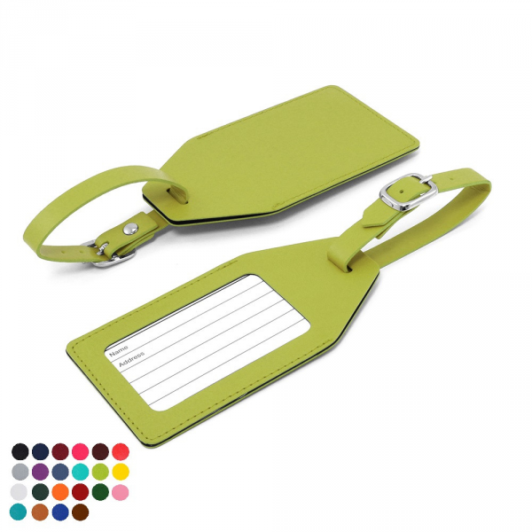 Large Luggage Tag in a choice of Belluno Colours