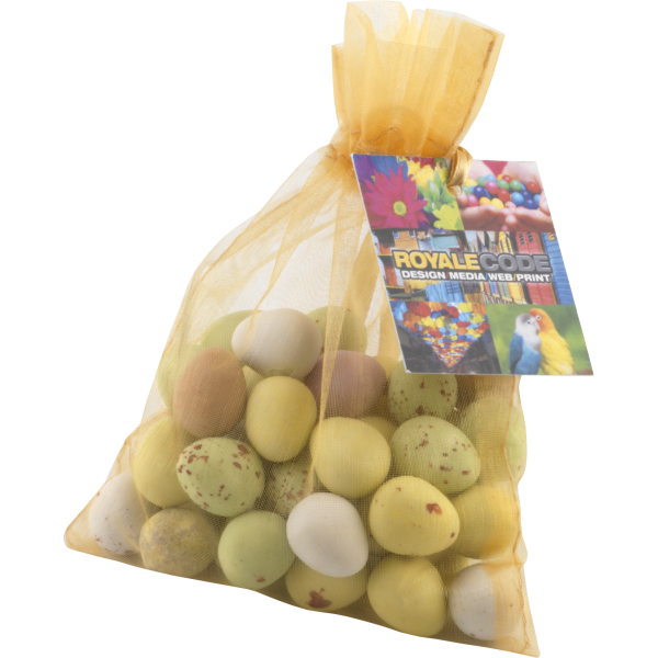 Organza Bag (Large) with Mini Eggs