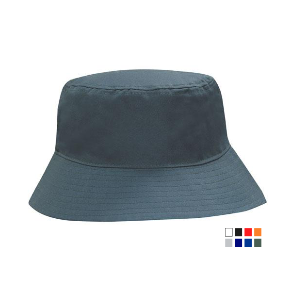 Breathable Poly Twill Bucket Hat