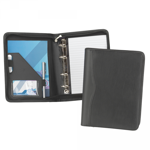 Houghton A5 Zipped Ring Binder