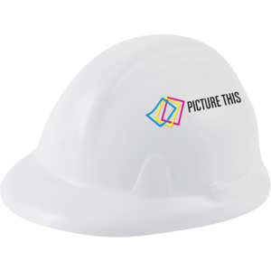 Promotrendz product Stress Ball - Hard Hat Shape