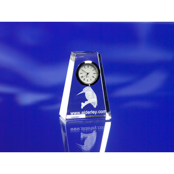 Crystal Taper Clock