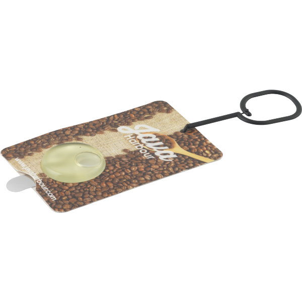 Card Air Freshener with Membrane