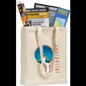 Promotrendz product Ashburton 10oz Cotton Canvas Tote Bag