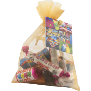 Promotrendz product Organza Bag (Large) with Retro Sweets