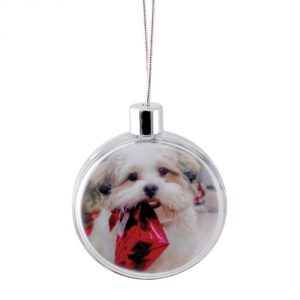 Promotrendz product Round Ornament - Clear
