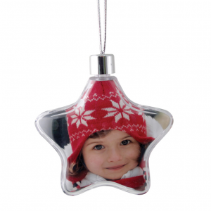 Promotrendz product Star Ornament - Clear