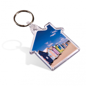 Promotrendz product Picto Keyring - House