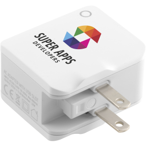 Promotrendz product World USB Travel Adaptor