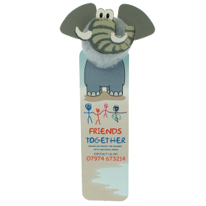 Promotrendz product AB2 Animal head bookmarks