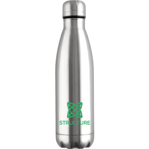 Promotrendz product Mood Vacuum Bottle - Stainless Steel
