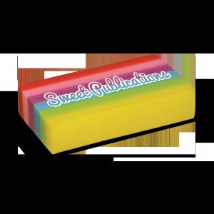 Promotrendz product Eraser - Rainbow