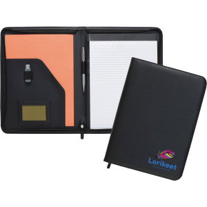 Promotrendz product Dartmouth A4 Conference Folder - Zipped