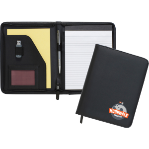 Promotrendz product Dartmouth A5 Conference Folder - Zipped