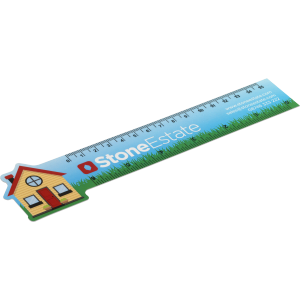 Promotrendz product Never Tear 15cm / 6 inch Ruler - Bespoke