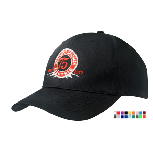 Promotrendz product 6 Panel Breathable Polytwill Cap