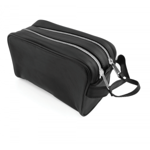 Promotrendz product Sandringham Nappa Leather Wash Bag