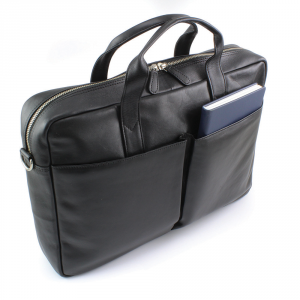 Promotrendz product Sandringham Nappa Leather Commuter Bag