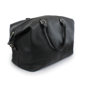 Promotrendz product Sandringham Nappa Leather Weekender Bag