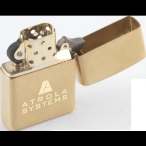 Promotrendz product Zippo - Brushed Brass