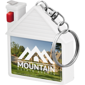Promotrendz product House Tape Measure Keyring