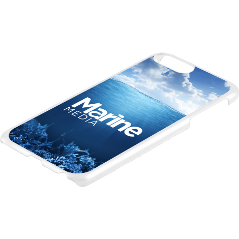 iPhone 6 / 7 or 8 Plus Case in White - Hard Shell