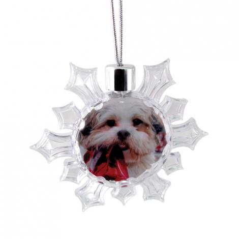 Snowflake Ornament - Clear