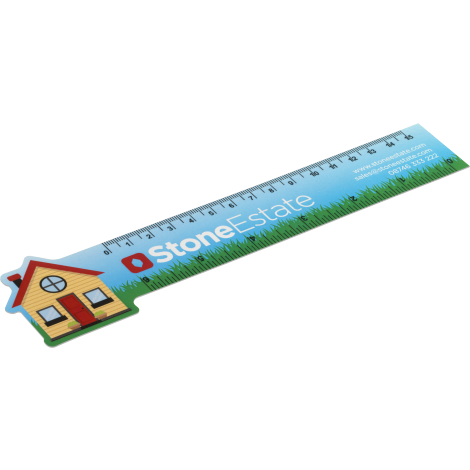Never Tear 15cm / 6 inch Ruler - Bespoke