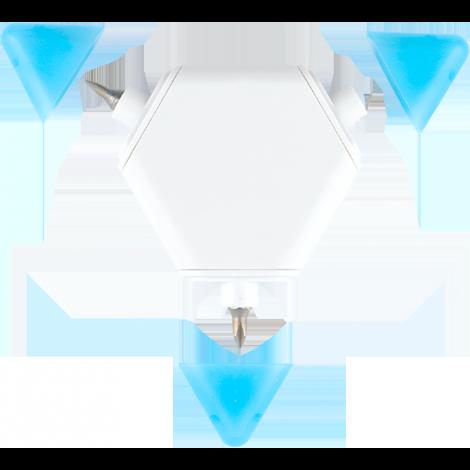 White/Blue color selection