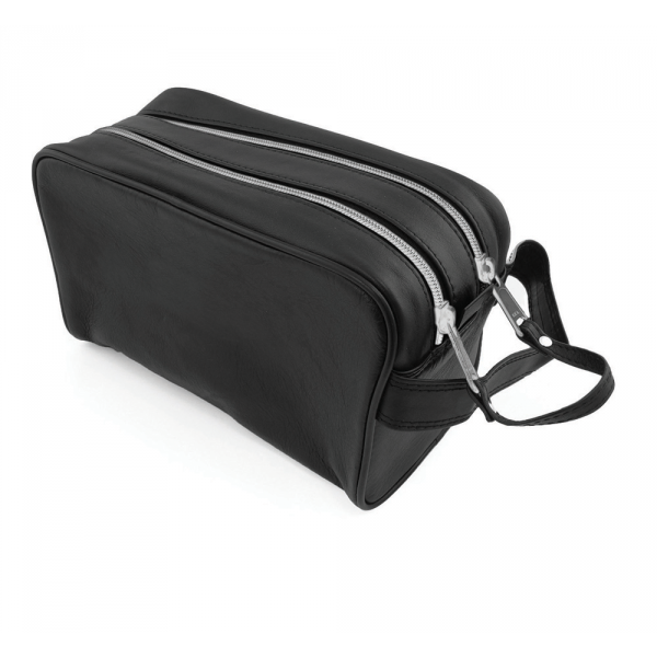 Sandringham Nappa Leather Wash Bag