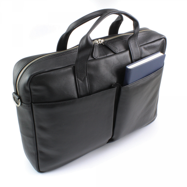 Sandringham Nappa Leather Commuter Bag
