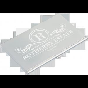 Promotrendz product Aluminium Business Card Holder