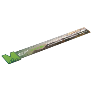 Promotrendz product Never Tear 30cm / 12 inch Ruler - Bespoke