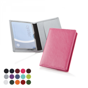 Promotrendz product Oyster Travel Card case in a choice of Belluno Colours