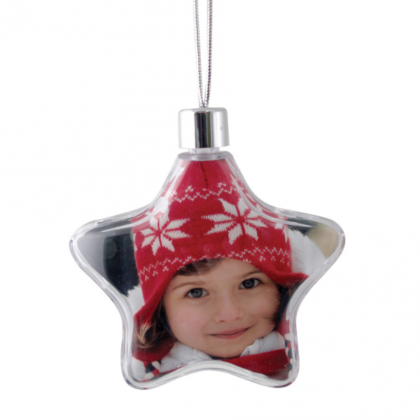 Star Ornament - Clear