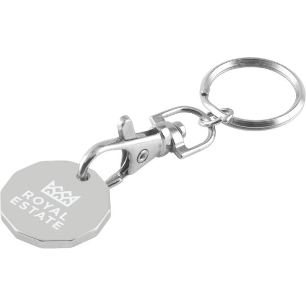 Trolley Coin Keychain - Laser Engraved (5 Day Service)