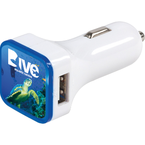 Promotrendz product Swift Dual Car Charger