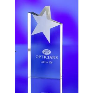 Promotrendz product Sloping Star Award